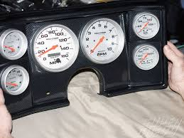 how to wire an electronic tachometer as easy as  classic dash 6 gauge panel auto meter gauges 1980 chevy bu super chevy magazine