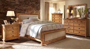 Distressed Bedroom Furniture Sets Willow Upholstered Bedroom Set Distressed Pine Progressive