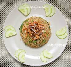 I made it the other. Table For 2 Or More Nasi Goreng Kampung Malay Countryside Fried Rice