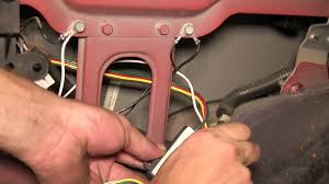 installation of a trailer wiring harness on a 1998 jeep cherokee etrailer com you