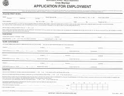 Free Downloadable Employment Application Forms Free Printable Blank Employment Application Form Template