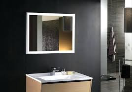 Wall Mounted Makeup Mirror Lighted Led Mirrors Bathrooms With