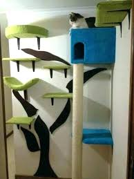 wall mounted cat furniture. Perfect Mounted Wall Mounted Cat Tree Best Of Building    To Wall Mounted Cat Furniture