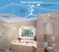 bathroom fan sizing. Master Bath With 1 Fan And 2 Grilles Application Bathroom Sizing A