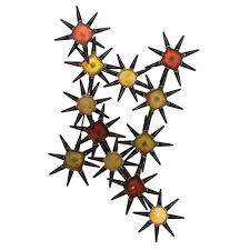 starburst metal wall art on starburst metal wall art with shop starburst metal wall art free shipping today overstock