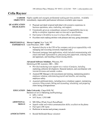 Hr Administration Cover Letter What Is The Best Template For A Resume