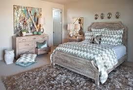 iometro eclectic bedroom also area rug artwork chevron distressed finish dresser mirror nightstand owl ceramic stool