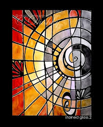 glass painting pattern ideas and designs 3
