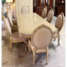 AICO Dining Set Upscale Consignment - Aico dining room set