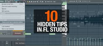 Fl Studio Design 10 Excellent Tools You May Not Know In Fl Studio