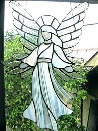 stained glass angel suncatcher angels by free patterns