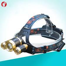 Đèn bin đội đầu đèn đeo trán siêu sáng - Đèn pin đội đầu 3 bóng LED Siêu  sáng cao cấp Cree T6 - Đèn đeo đầu 3 bóng Công nghệ LED