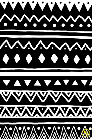 tribal patterns black and white tumblr | Q Pattern