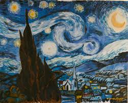 my view on van gogh starry night