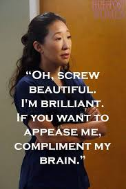 Cristina Yang Quotes Screw Beautiful
