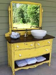 vanity idea idee bagno rustico idee