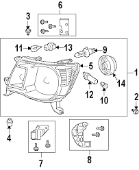 parts com® toyota tacoma alternator oem parts diagrams 2006 toyota tacoma pre runner v6 4 0 liter gas alternator