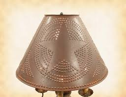 image of punched tin lighting country decor