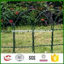 garden edging fence. Decorative Garden Borders Border Fence Edging Scroll Top Wire For