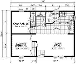 washington 2 beds 1 bath 747 sqft 24 x 32 double wide economy d homes