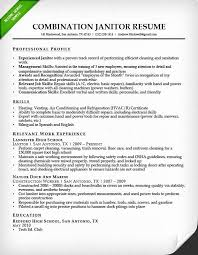Custodian Resume Inspiration 721 Custodian Resume Samples Awesome Janitor Resume Sample Template