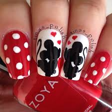 Valentine By Tinaspolish Nail Nails Nailart Nehty Naglar