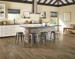 beautiful distressed wood flooring luxury vinyl plank lvp kitchen dining inspiration