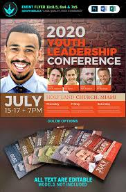 revival flyers templates youth leadership conference flyer template seraphimblack youth