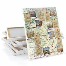 Wedding Seating Plan Chart Details About Honeymoon Road Trip Map Wedding Table Seating Plan Chart Canvas Any Location