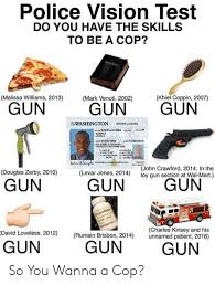 Police Vision Test Do You Have The Skills To Be A Cop