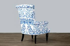 blue and white accent chair. Blue And White Accent Chair Collection In With Wholesale Interiors Baxton I