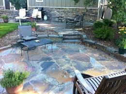 blue stone patio alternatives to patio flagstone patio installation diy