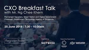 Create A Programme For An Event Display Event Cxo Breakfast Talk With Mr Ng Chee Khern