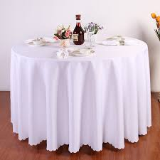 tablecloths large round tablecloth round tablecloths 120 inches table chairs flower vas wall cup teapot