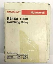 honeywell switching relay tradeline honeywell r845a 1030 2 wire dpst switch boiler switching control relay
