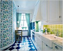 Kitchen Present Flooring Archaic And Stylish Kitchen For Your Cooking Fabulous