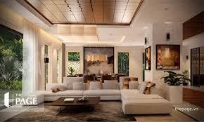 غرفة المعيشة تنفيذ The Page Interior Design Homify
