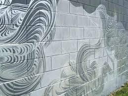 painting block wall decorative cinder block wall faux painting walls painting block wall fence