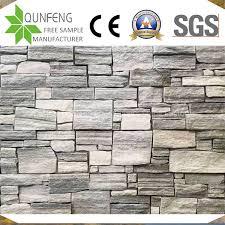 grey ledgestone panel stacked stone