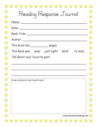 Pictures on Free Reading Response Worksheets, - Easy Worksheet Ideas