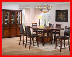 dining room sets for sale edmonton. rustic oak finish 5 piece pub set on sale @ yvonne\u0027s furniture dining room sets for sale edmonton i