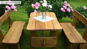 rustic wooden outdoor furniture. Outdoor Rustic Wooden Furniture N