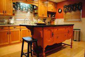 Repurposed Antique Buffet Transformed Into An Eat At Kitchen