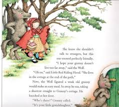 language pictures sounds the many lives of ldquo little red riding little red riding hood p 51