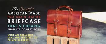 the beautiful american made full grain leather briefcase that s er than its competitors