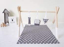 view in gallery wooden baby gym from august lace designs