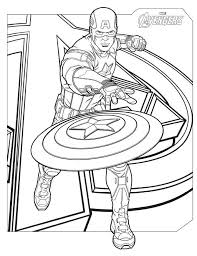 Avenger Coloring Page Avengers Coloring Pages Best Coloring Pages