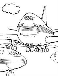 Kids N Fun 21 Kleurplaten Van Vliegtuigen