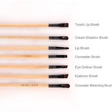 diffe bristles shapes eye makeup brushes types total 24 32 brushes for makeup foundation brush concealer