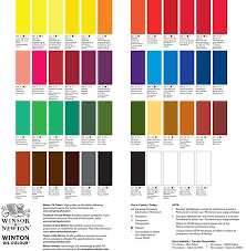 Par Paint Colour Chart Winsor Newton Winton Oil Colour Paint 37ml Tube Permanent Alizarin Crimson